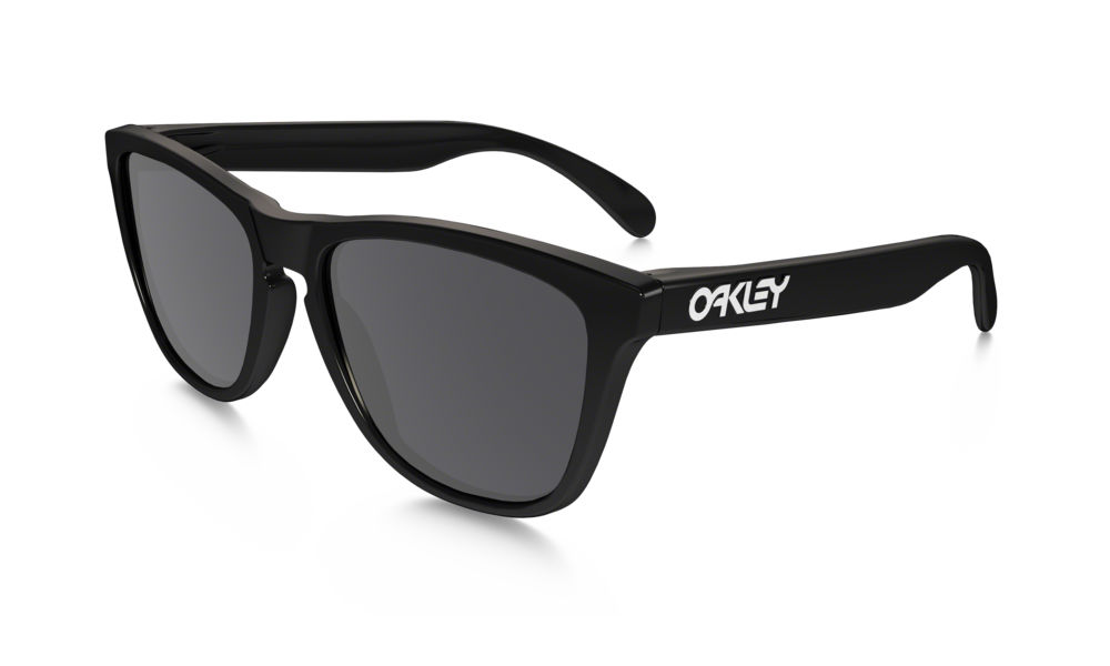 f82a38693552f Previous  Next. Previous  Next. OAKLEY FROGSKINS 24-306 BLACK SUNGLASSES