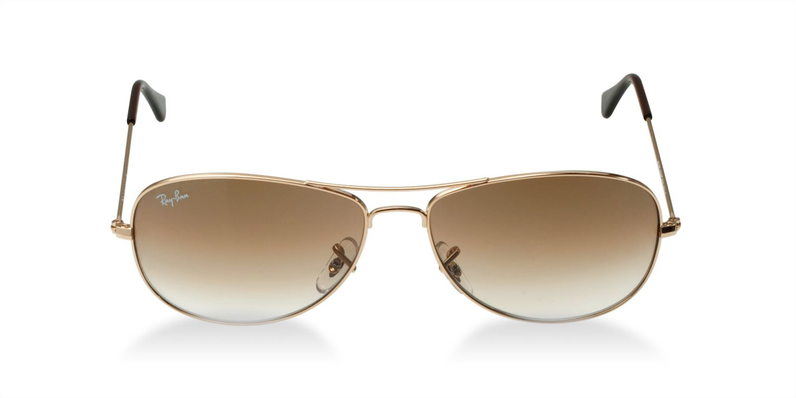 c3d0c4a50c8 RAY-BAN RB3362 001 51 GOLD GRADIENT BROWN COCKPIT SUNGLASSES