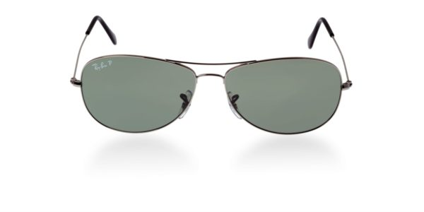 RB 3362 gunmetal polarized  front