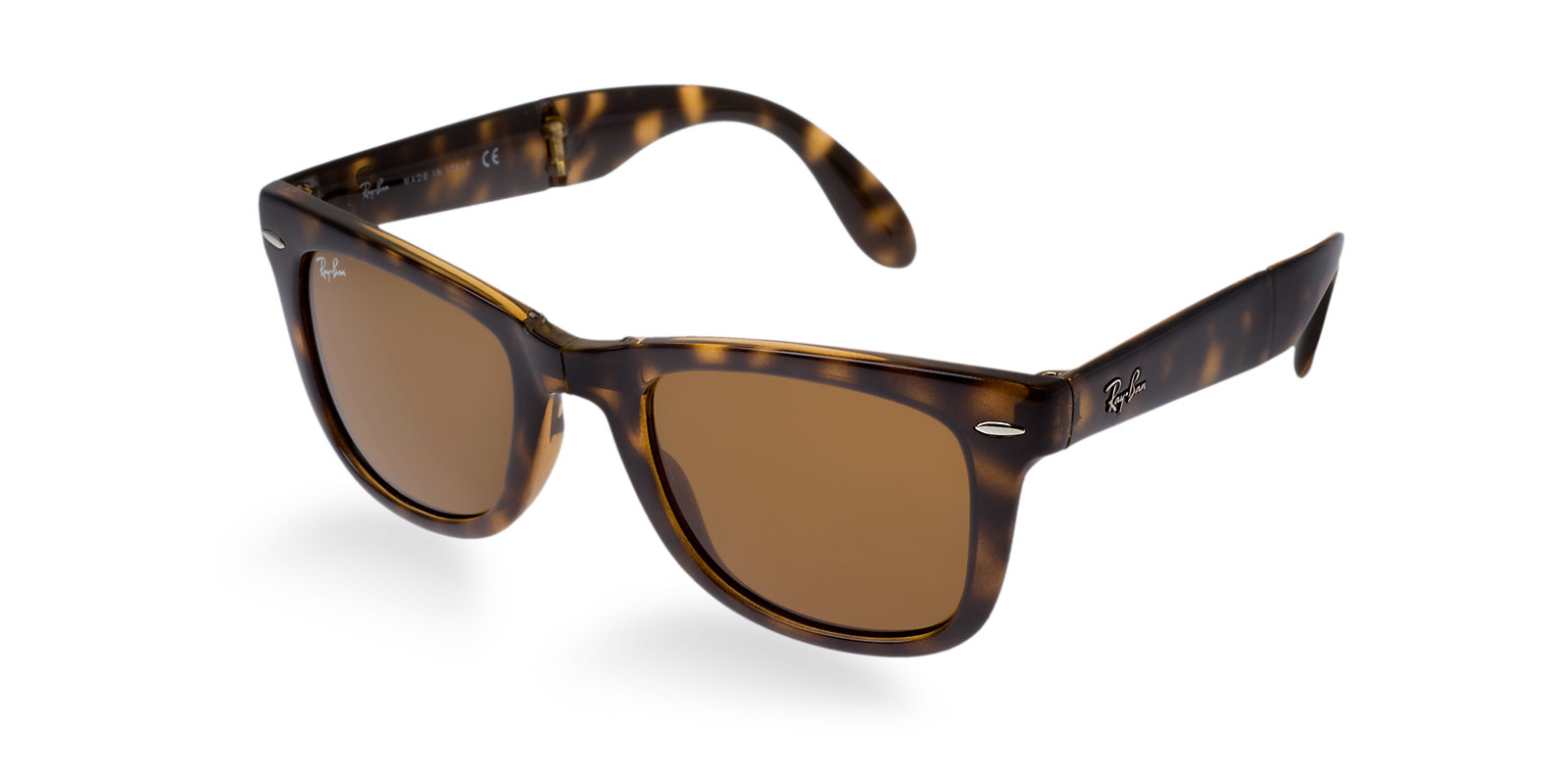 e4216b928 Previous; Next. Previous; Next. RAY-BAN RB4105 710 TORTOISE FOLDING  WAYFARER SUNGLASSES