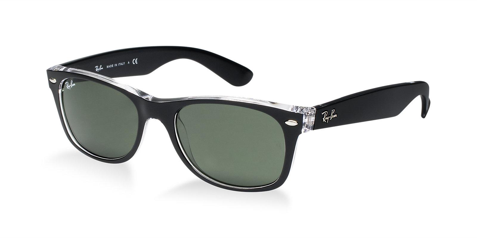 ray ban rb2132 6052 new wayfarer sunglasses lux eyewear. Black Bedroom Furniture Sets. Home Design Ideas