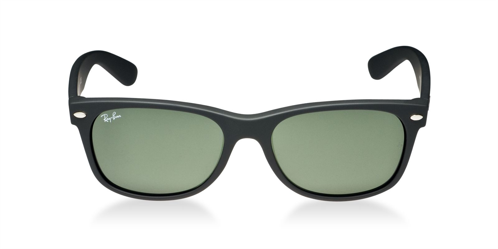 RAY-BAN RB2132 622 MATTE BLACK NEW WAYFARER SUNGLASSES ...