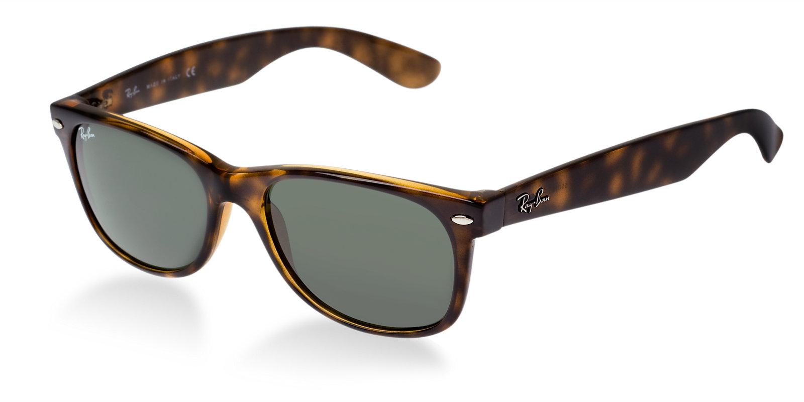 ray ban rb2132 902 tortoise new wayfarer sunglasses lux eyewear. Black Bedroom Furniture Sets. Home Design Ideas