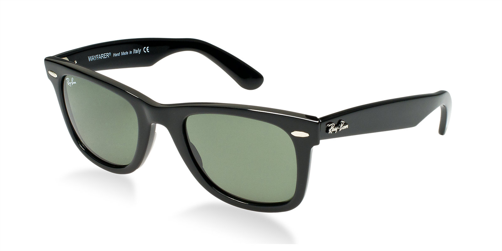 RAY-BAN RB2140 901 BLACK CLASSIC WAYFARER SUNGLASSES  c49891d38b420
