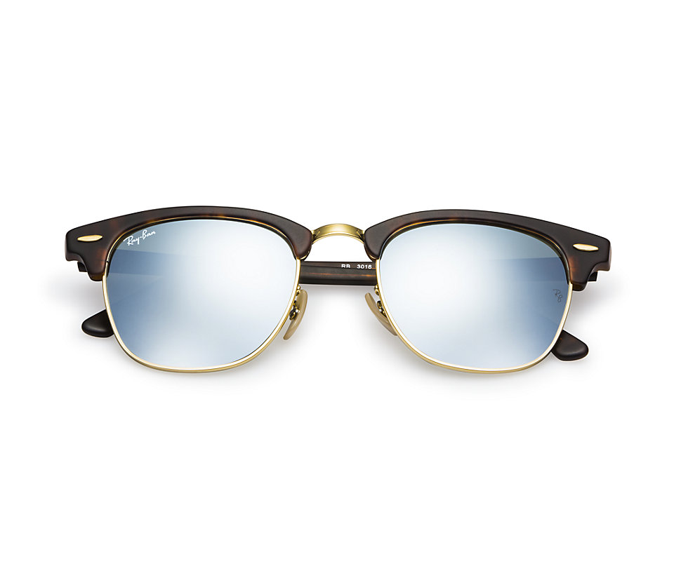 Ray Ban Rb3016 114530 Matte Tortoise Flash Silver