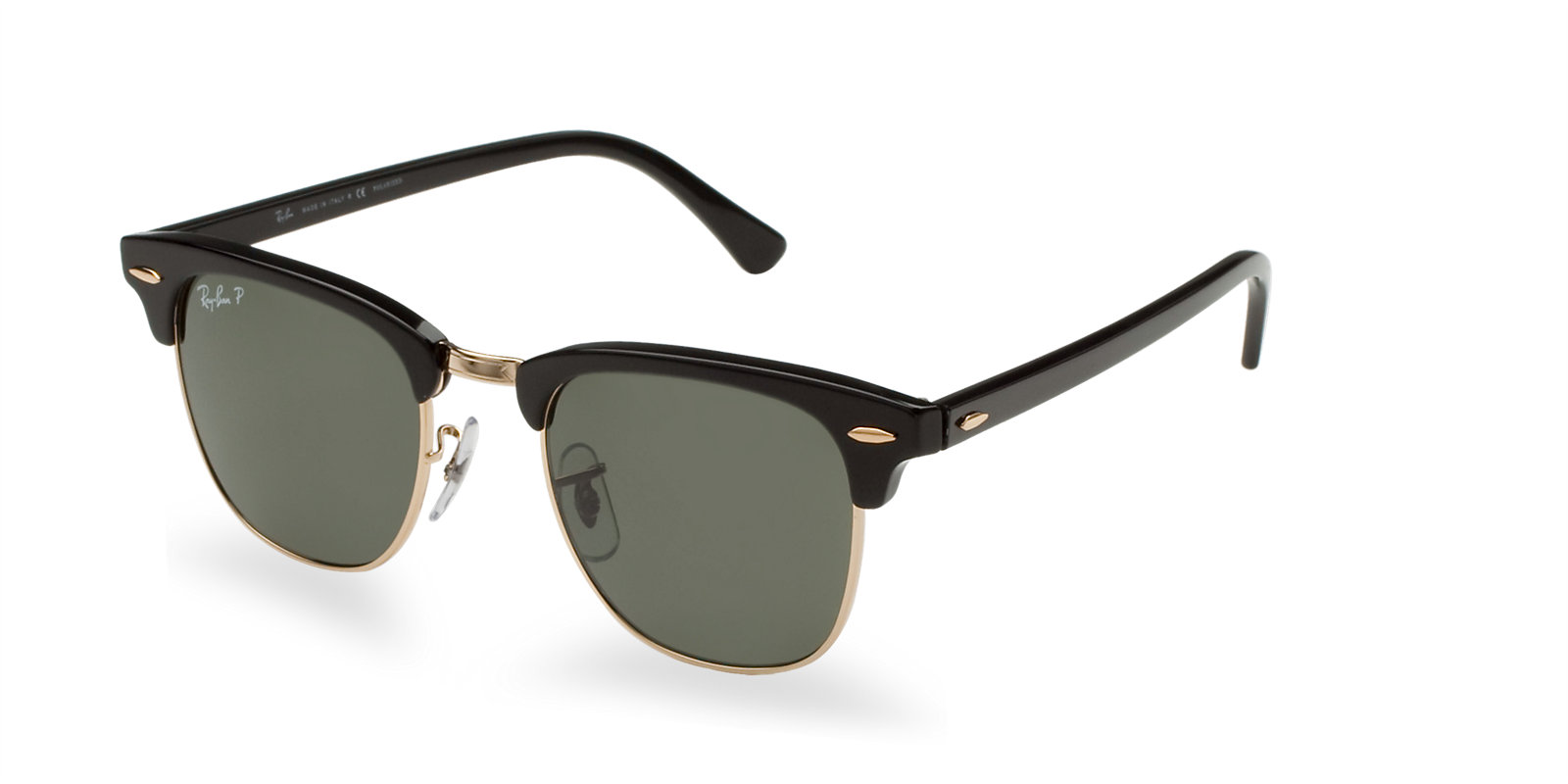 38caa856157 Previous  Next. Previous  Next. RAY-BAN RB3016 901 58 POLARIZED BLACK CLUBMASTER  SUNGLASSES