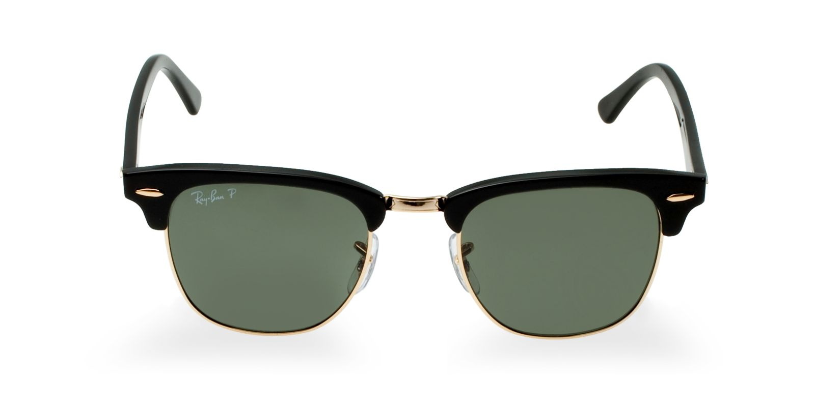 a29ee9a5343e Ray Ban Rb3016 Clubmaster Sunglasses Black Polarized Ray Bans ...