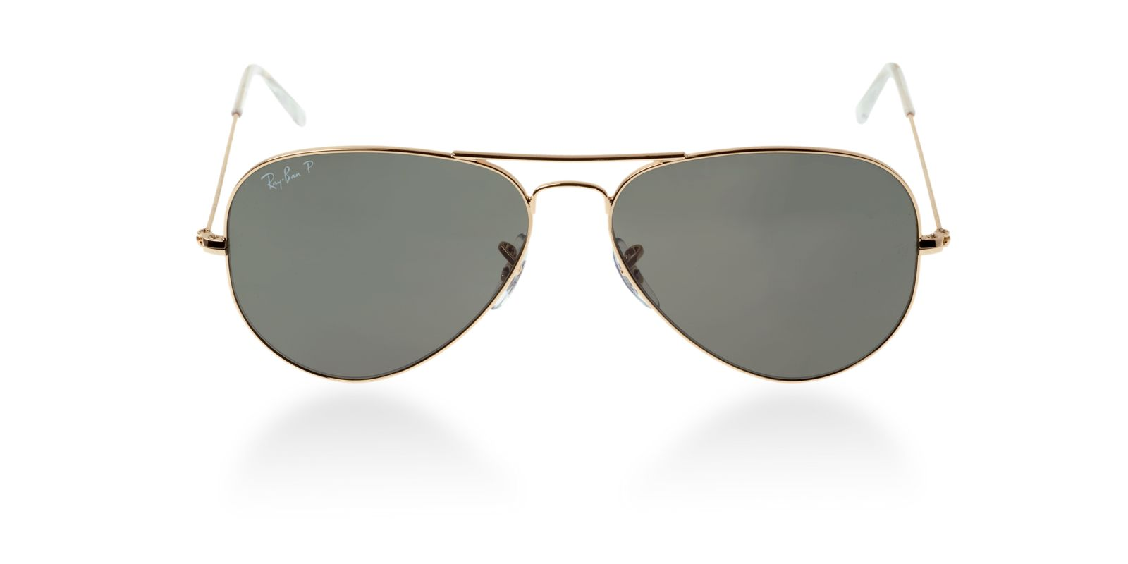 500bfd4da0 Previous  Next. Previous  Next. RAY-BAN RB3025 001 58 GOLD POLARIZED  AVIATOR SUNGLASSES