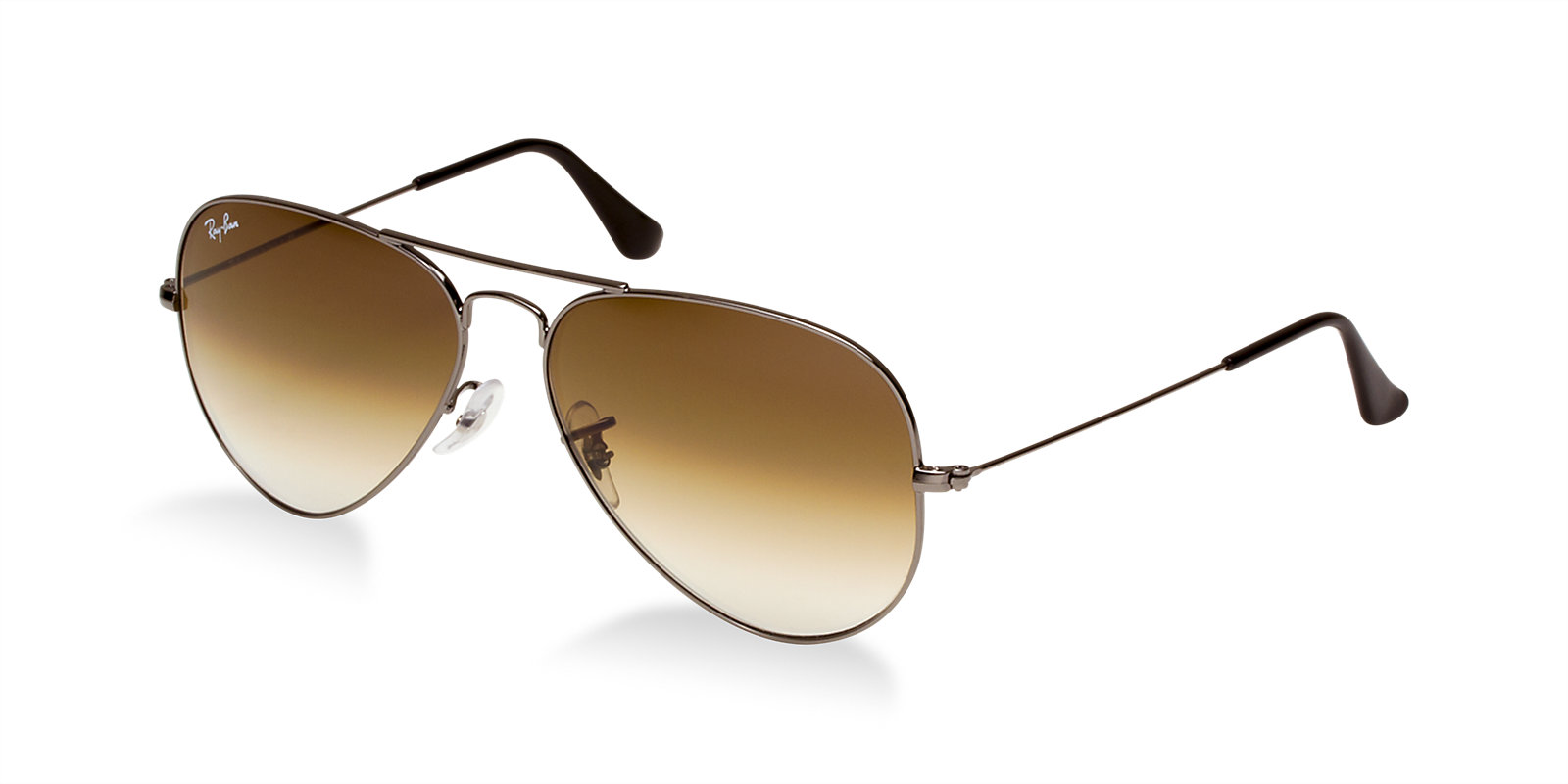 df5b3068e7 Previous  Next. Previous  Next. RAY-BAN RB3025 004 51 GUNMETAL BROWN  AVIATOR SUNGLASSES