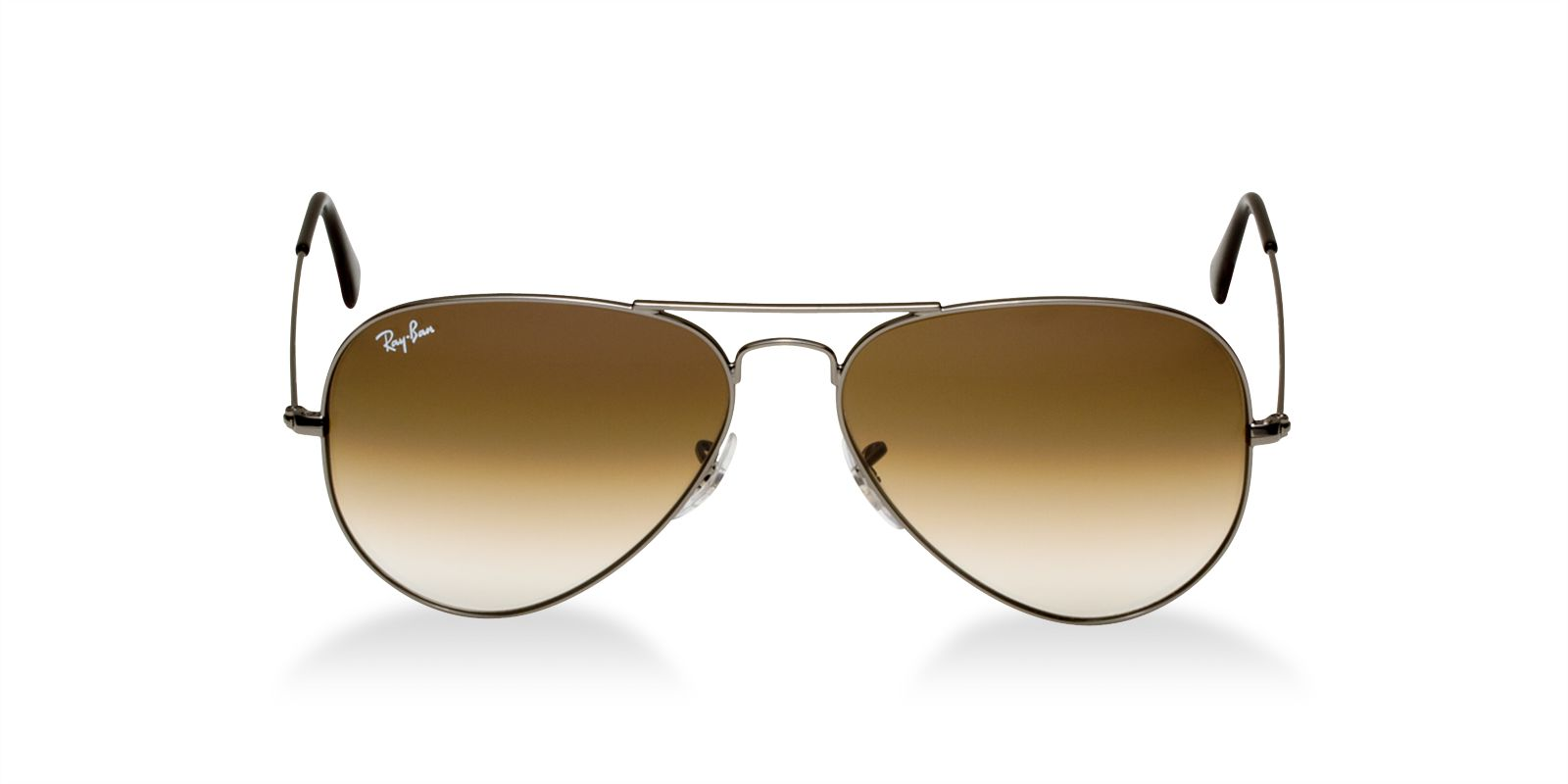 3440dc99c6 Previous  Next. Previous  Next. RAY-BAN RB3025 004 51 GUNMETAL BROWN  AVIATOR SUNGLASSES