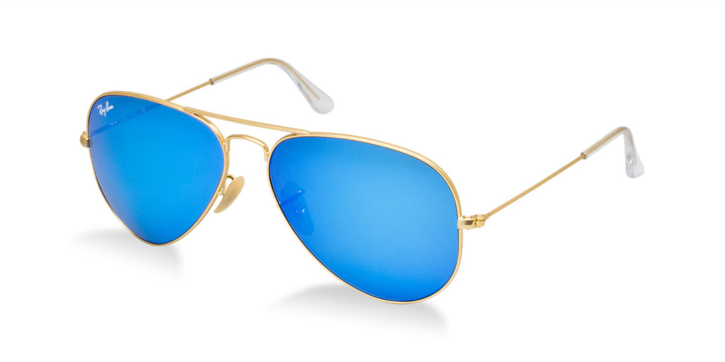 Ray ban rb3025 112 17 flash mirror aviator sunglasses for Ray ban aviator verre miroir