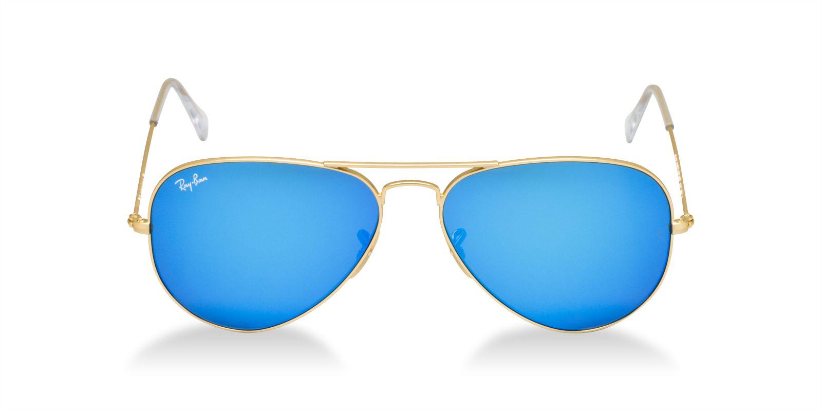 Круглые солнечные очки зеркальные
