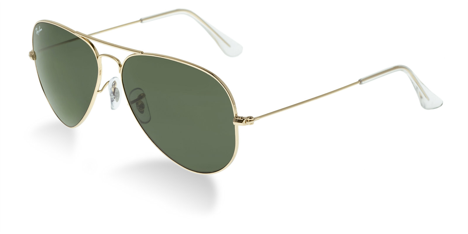 ray ban rb3025 gold classic aviator sunglasses lux eyewear. Black Bedroom Furniture Sets. Home Design Ideas