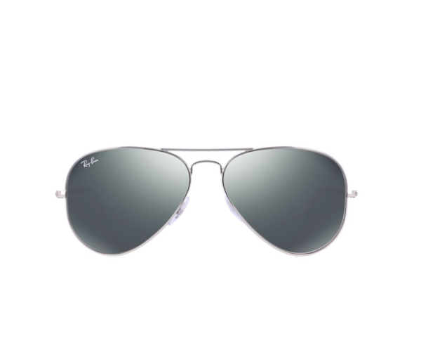 Silver Mirror Aviator Sunglasses  ray ban rb3025 silver mirror aviator sunglasses lux eyewear