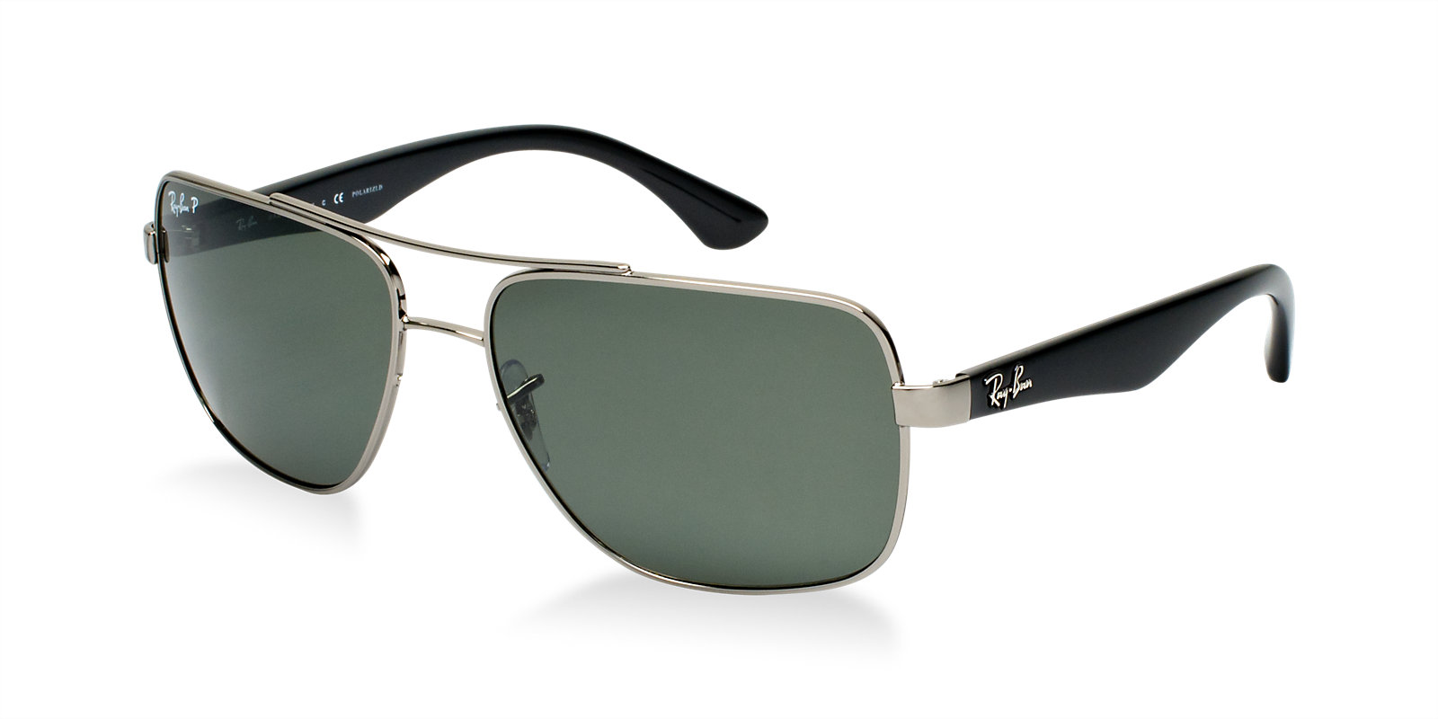 Ray Ban Rb3483 004 58 Gunmetal Polarized Sunglasses Lux Eyewear