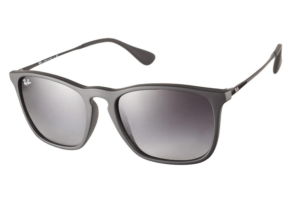 Ray Ban Rb4187 622 8g Black Chris Sunglasses Lux Eyewear