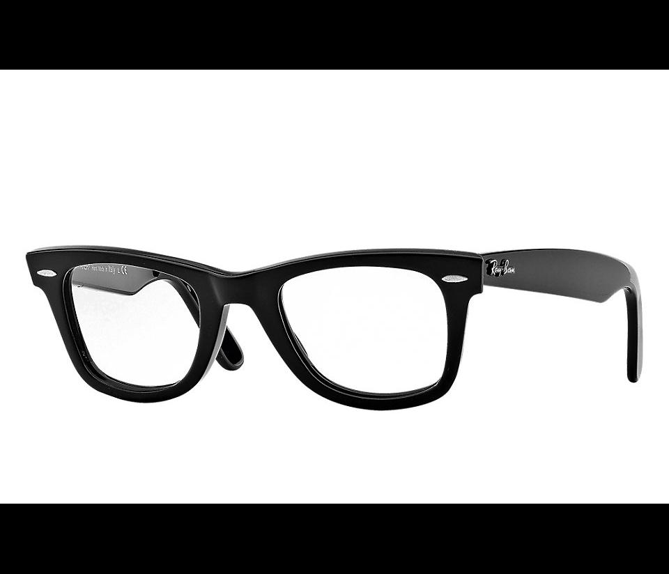 5121 black. RAY-BAN RB5121 2000 WAYFARER BLACK EYEGLASSES 4bbb684cf49ad