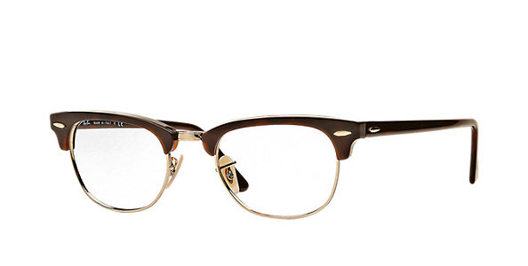 886d25f408f9 ... best price ray ban rb5154 2372 clubmaster tortoise gold eyeglasses  4794f ac03d