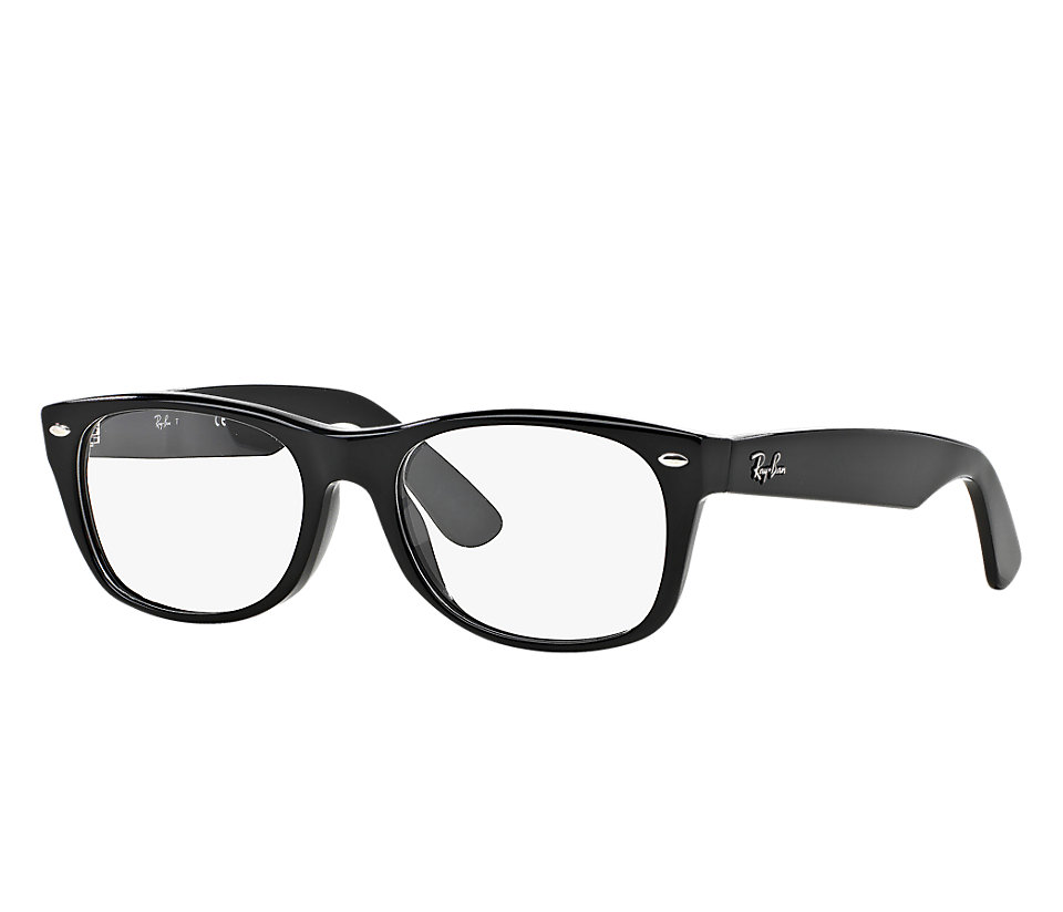 RAY-BAN RB5184 2000 BLACK NEW WAYFARER EYEGLASSES | Lux ...