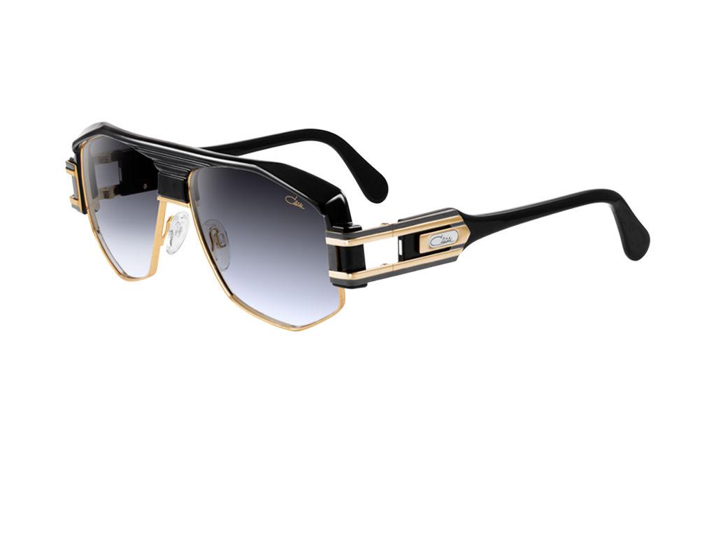 Cazal Vintage Legends 672 Gold Black Sunglasses Lux Eyewear