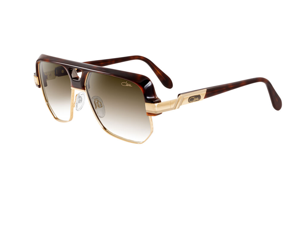 cazal legends vintage 672 tortoise gold sunglasses