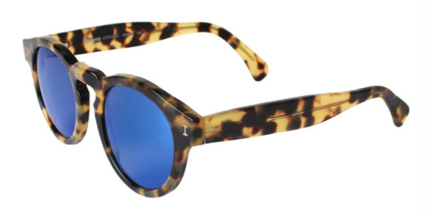 leonard tortoise blue mirror side
