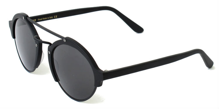 8bce093ba22b3 Previous  Next. Previous  Next. ILLESTEVA MILAN 2 MATTE BLACK SUNGLASSES