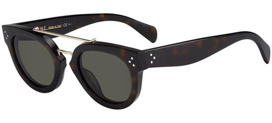 9c3f120b960a CELINE CL 41043 S 086 NEW PRETTY DARK HAVANA SUNGLASSES .